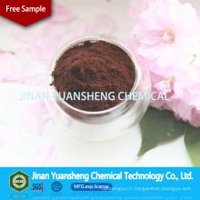 Lignine de sodium fabriqué en Chine 2015 Superplastifiant concret
