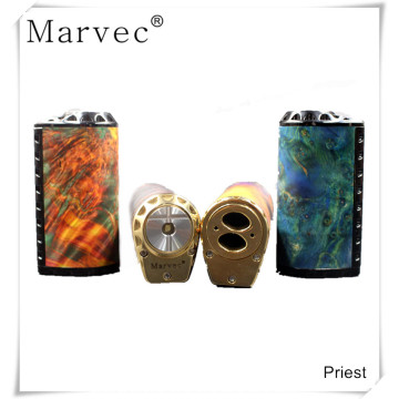 DNA75 chip stabilized wood box mod e cigarette