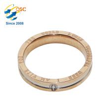 Populärer Mode-Entwurfs-preiswerter Beispiel-Art- und WeiseEdelstahl-Ring