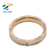 Popular Fashion Design Cheap Sample Fashion Stainless Steel Ring