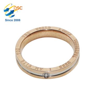 Popular Fashion Design Cheap Sample Fashion Stainless Steel Ring