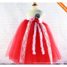 Kinder Mädchen Abendkleider Partygirl Kleid Tüll Tutu Kleid