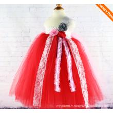 Robes de soirée enfants filles robe de soirée fille tutu robe tutu