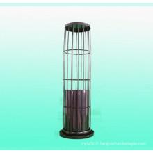 Cage de sac de filtre de pulvérisation organique de silicium pour le collecteur de poussière