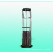 Organic silicon spraying filter bag cage for dust collector