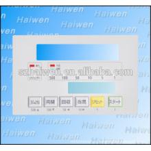 Длительный срок службы водонепроницаемый Touch Type Key Мембранная клавиатура