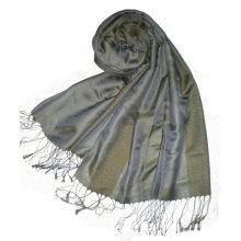 Твердый цвет моды длинный шелковый платок
