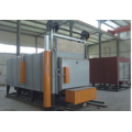 gas trolley type forge furnace