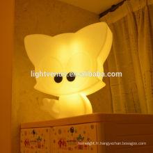 2015 nouvelle lampe de forme de kitty conçue pour les enfants