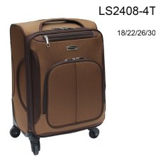 Soft Fabric Luggage Case with 4 Wheels