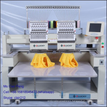 high speed two head embroidery machine for sale brother sister embroidery