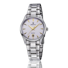 Cheap Stainless Steel Quartz Week and Date Display Couple Montre bracelet