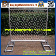 Günstige Hot Dipped Galvanisierte / PVC beschichtete temporäre Zaun