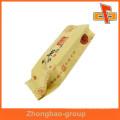Guangzhou vendedor aceita encomenda de alta qualidade gusset lado plástico saco de embalagem de alimentos com impressão
