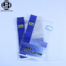 Ziplock poly sacs pour les vêtements d'emballage des sacs pour les jeans