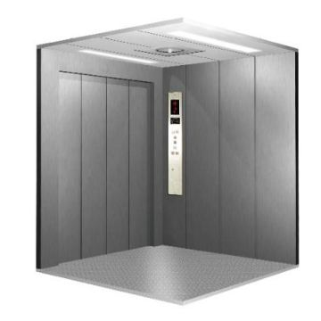Machine Roomless Freight Elevator Cabin