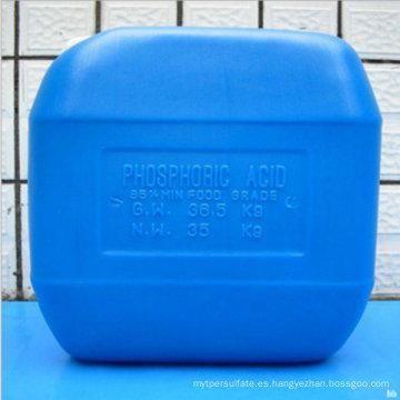 Precio competitivo del ácido fosfórico 85% grado alimenticio