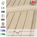 5mm Lattice Wood Grain Nature Oak Veneer Door Skin