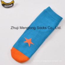 Garoto bonito boa qualidade algodão meias com padrões fantasia