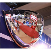 Miroir de sécurité à demi-dôme au plafond suspendu / miroir demi-lune convexe