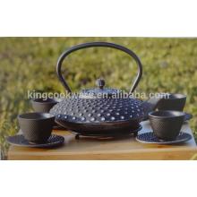 Enamel cast iron kongfu kettle / tea pot