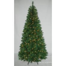 Realist Künstlicher Weihnachtsbaum mit String Licht Multi Farbe LED Dekoration (AT1023)