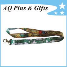 Custom Polyester Lanyards with Logo (Lanyard-107)