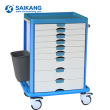 SKR031 ABS Surgical Instrument Treatment Trolley With Drawer