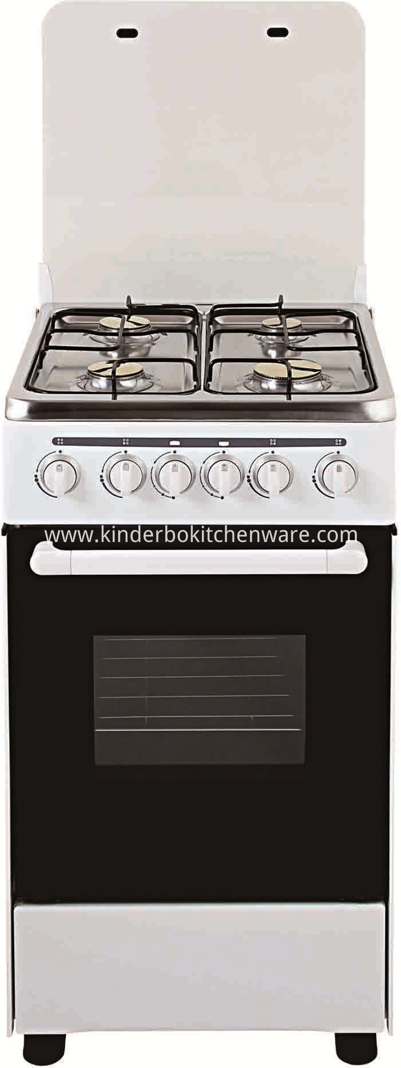 Best-Selling 4 Burner Gas Cooker With Oven Gas Buner Stove Made Of Stainless Steel
