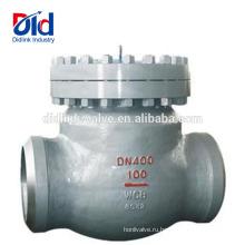 Воздух высокого давления Встроенная пластина типа Y Ball Wcb Сварная стыковая сварная скважина Обратный клапан Водяной насос