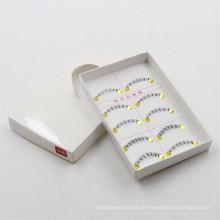Heißer Verkauf unter Wimpern synthetische untere Wimpern klar Band falsche Wimpern synthetischen unteren Wimpern
