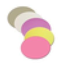 1um 3um 9um полировочные пленки для волокна, полировочная пленка Mpo, алмазная притирочная пленка, круглый тип