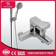 квадратный душевой комплект прочный Медь Латунь ванна душ комплекты