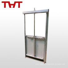 Manuel d'eau carrée Penstock Sluice Gate