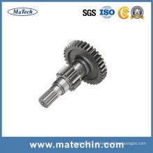 Fornecedor China 42CrMo4 4140 Eixo de aço forjado Engrenagem Eixo de forjamento