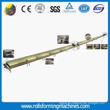 Línea de productos de acero cubiertas cubierta de piedra