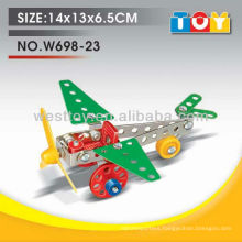 Educational DIY aeroplane metal item