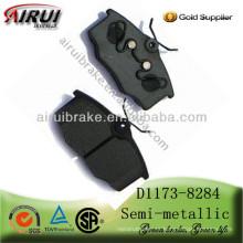 Almohadilla de freno semi-metálica de alta calidad D1173-8284 Opel