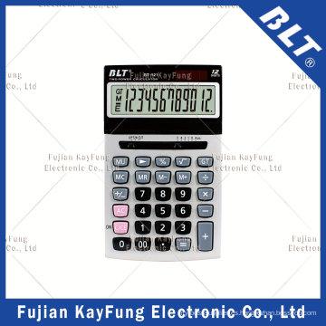 Calculadora de escritorio de 12 dígitos para el hogar y la oficina (BT-121)