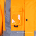 Winter High Visibility Safety Bomber Reflective Jacket