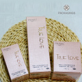 Pink matte cosmetic packaging eco cosmetic box