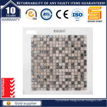 Shinning Powder Crystal and Marble Stone Mosaic