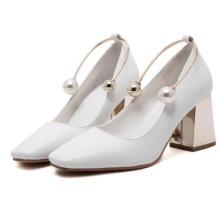 2018 новый дизайн средний каблук повседневная обувь женская