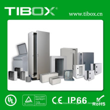 Metal Cabinet-Waterproof Plexiglass Door-Inner Door Metal Wall Mount Enclosure Box-Tibox