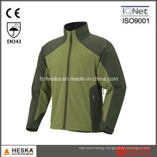 Custom Waterproof Wear 3 Layer Softshell Mens Jacket