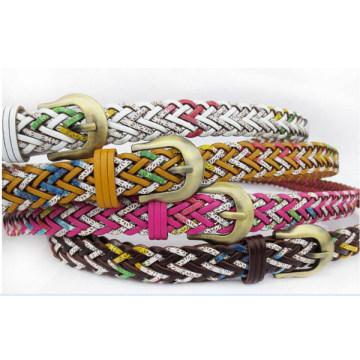 Fashion lady knitted belt