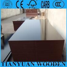 China O filme enfrentou a madeira compensada Shuttering do molde / madeira compensada do molde