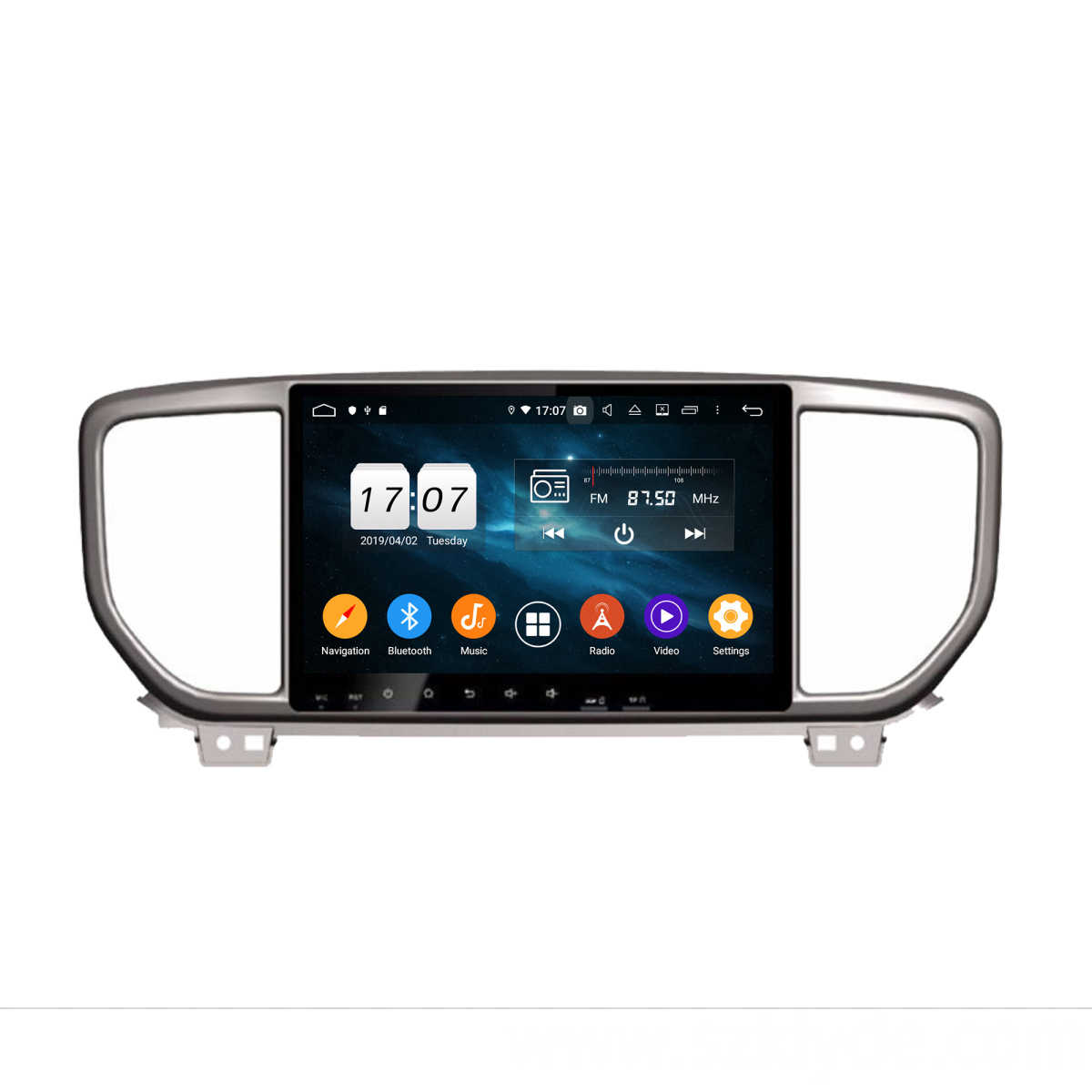car navigation for Sportage 2018