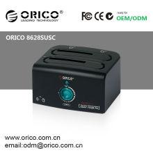 "ORICO 2.5 ""& 3,5"" SATA HDD Docking Station mit Klonfunktion; 4TB HDD Docking Station"