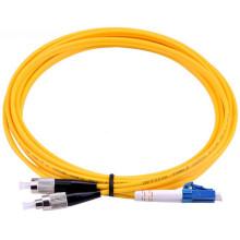 Cable de remiendo de fibra óptica a dos caras del solo modo ST-LC del fabricante de China